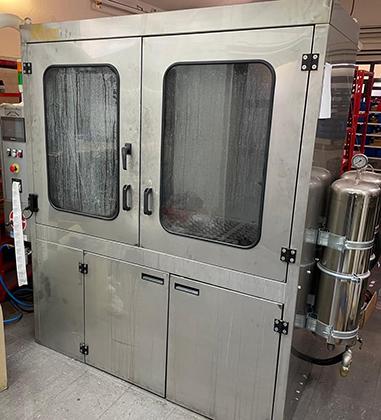 stroj za čišćenje DPF-